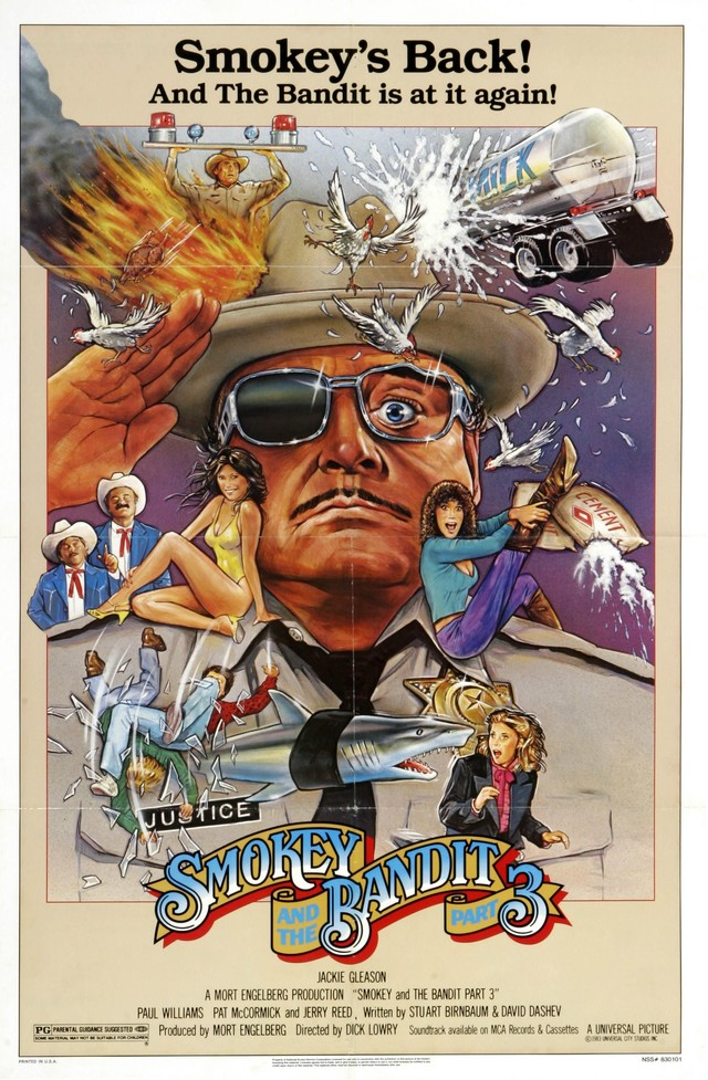 Smokey and the Bandit Part 3 kapak