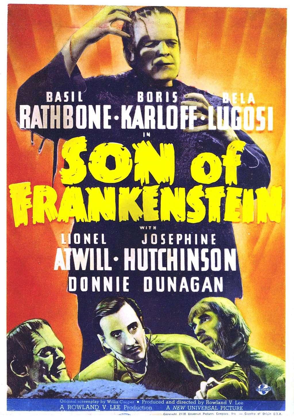 Son of Frankenstein kapak