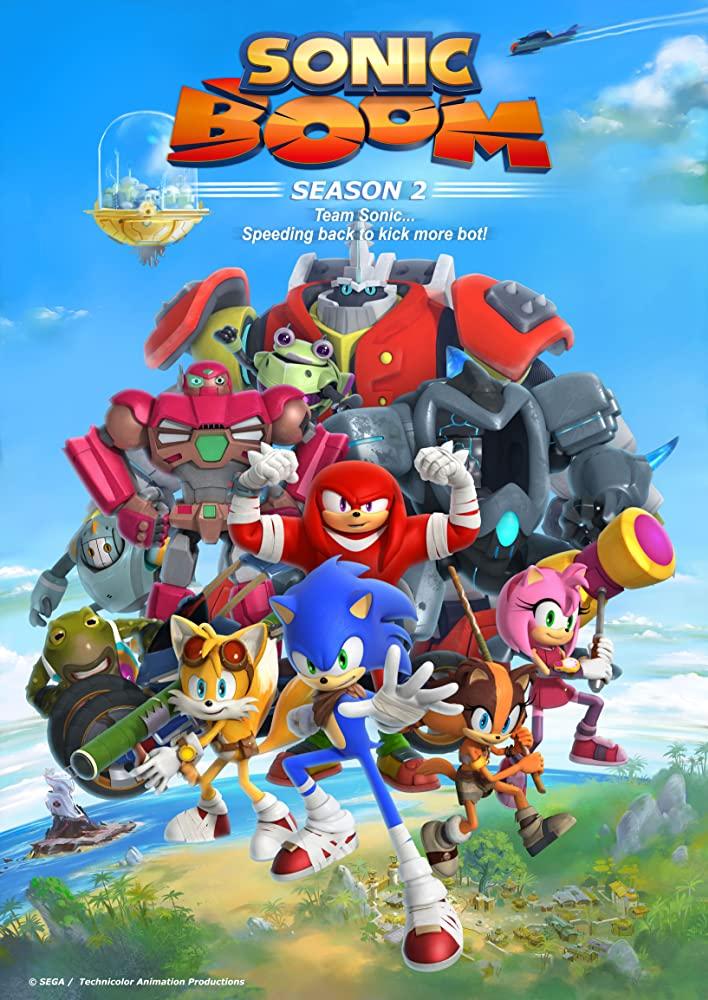 Sonic Boom kapak