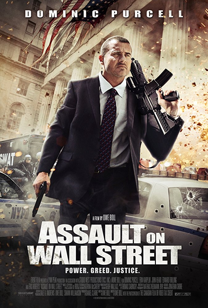 Assault on Wall Street kapak