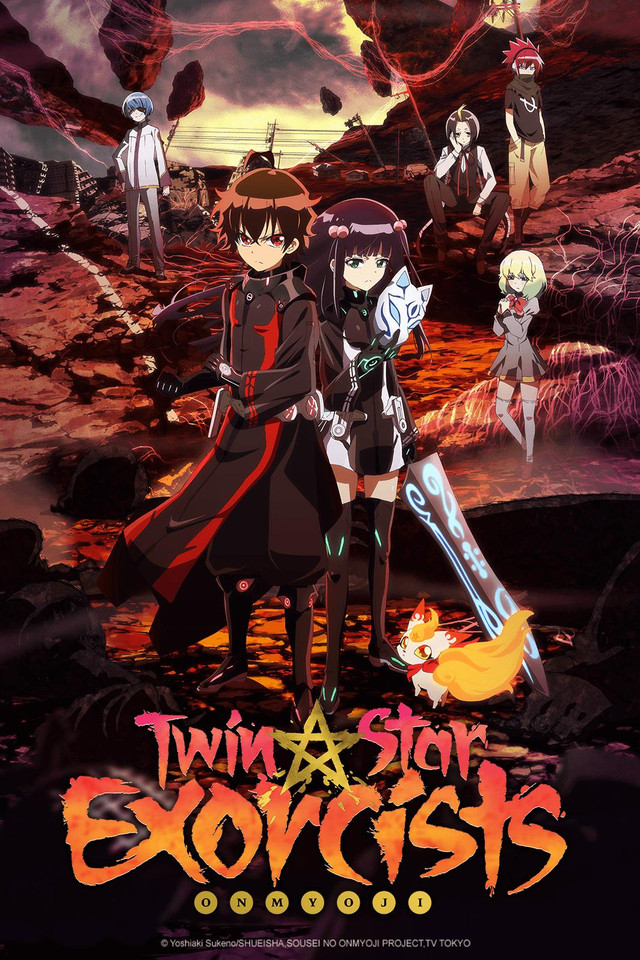 Twin Star Exorcists kapak