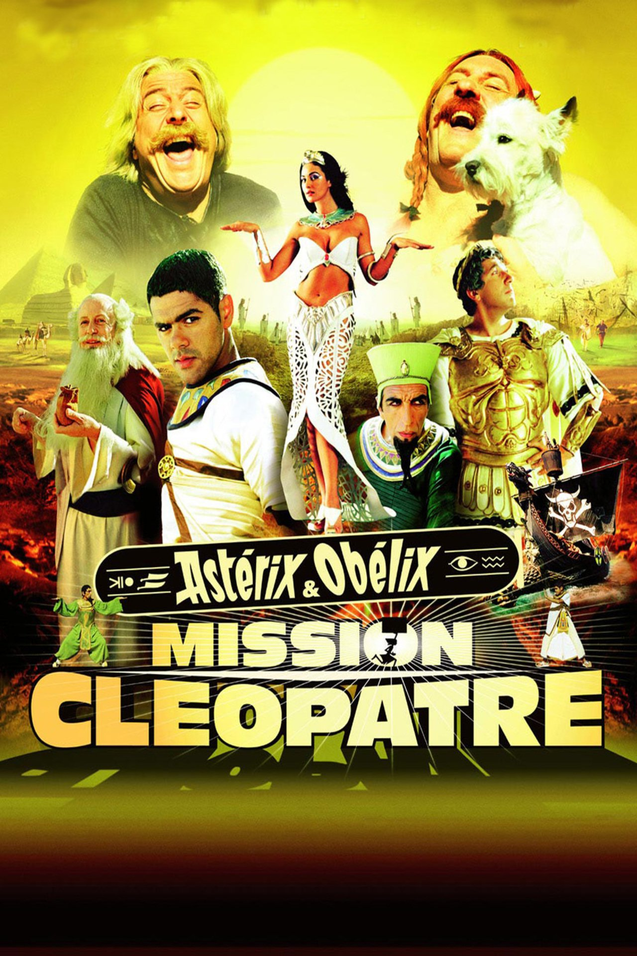 Asterix and Obelix Meet Cleopatra kapak