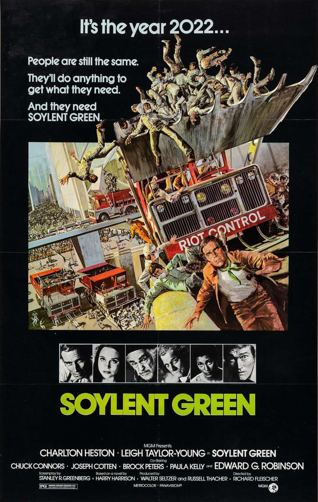 Soylent Green kapak