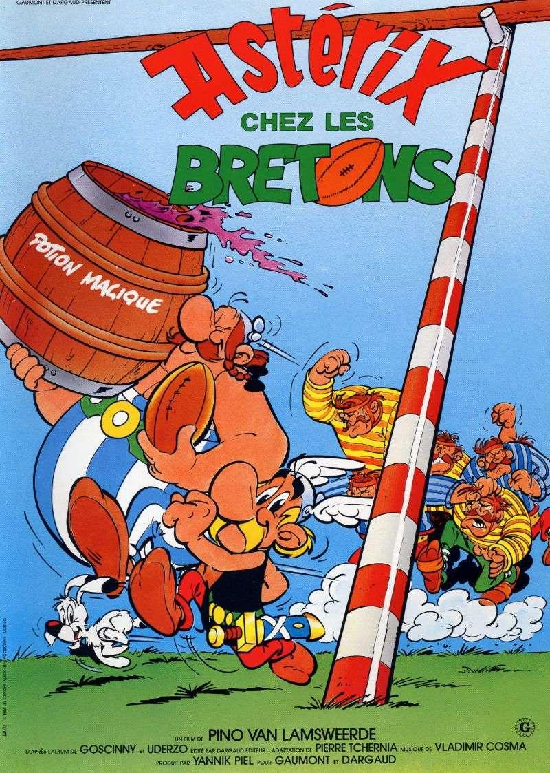 Asterix in Britain kapak