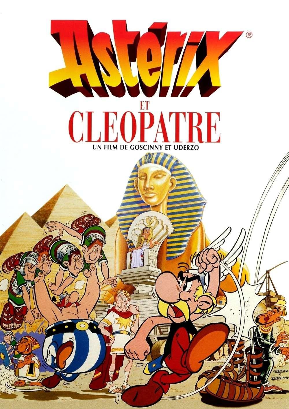 Asterix and Cleopatra kapak