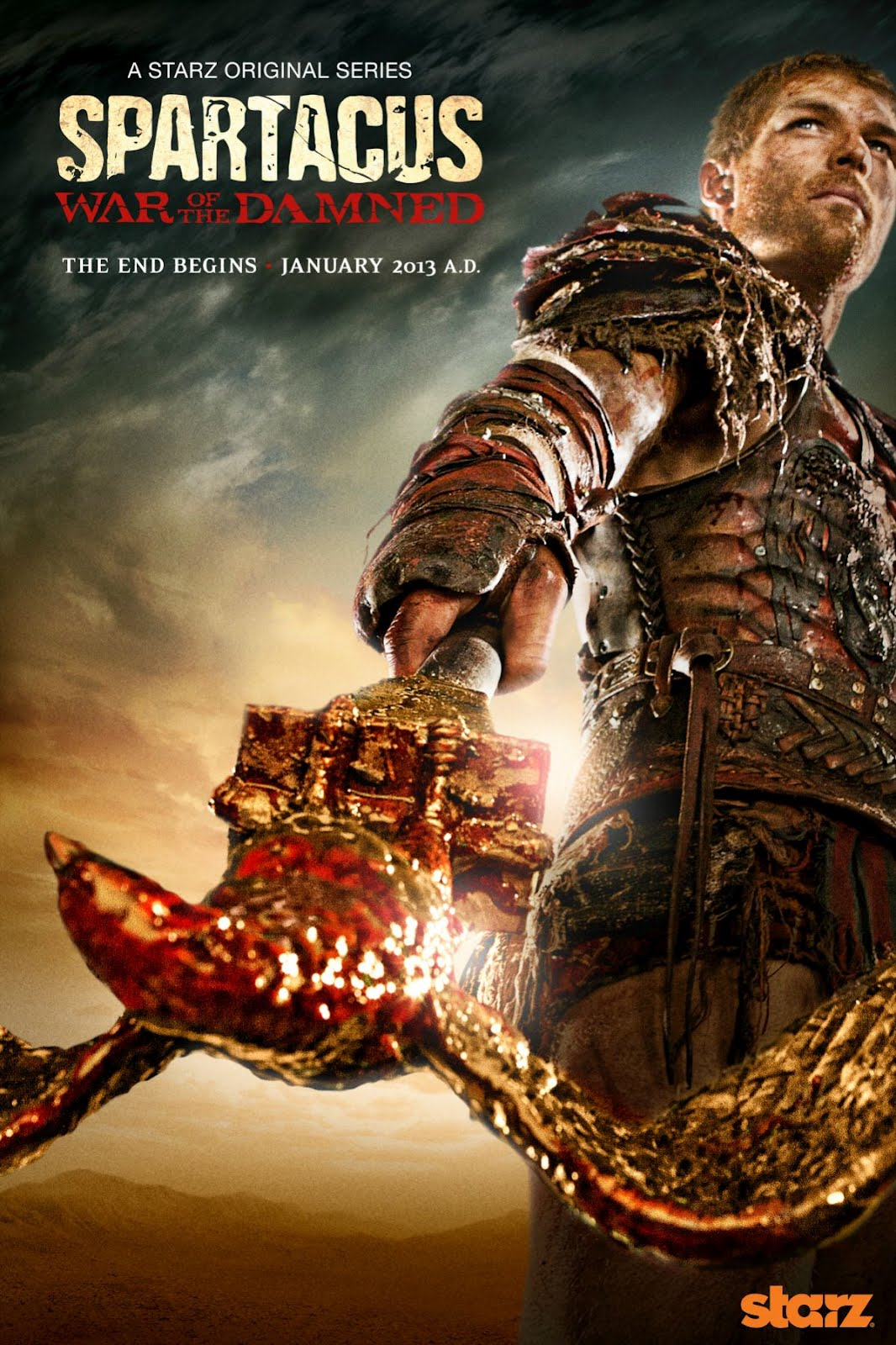 Spartacus: Blood and Sand kapak