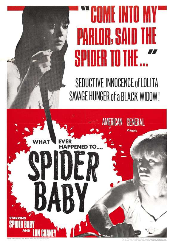 Spider Baby or, the Maddest Story Ever Told kapak