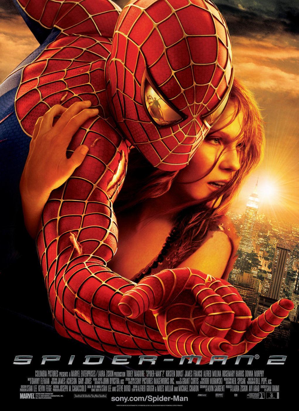 Spider-Man 2 kapak