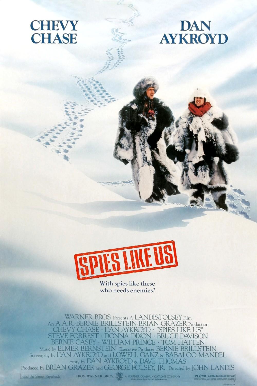 Spies Like Us kapak