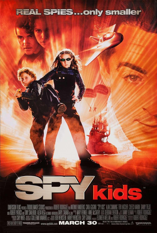 Spy Kids kapak