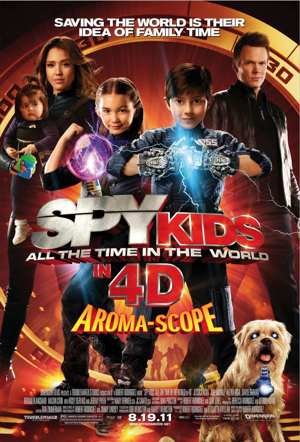 Spy Kids 4-D: All the Time in the World kapak
