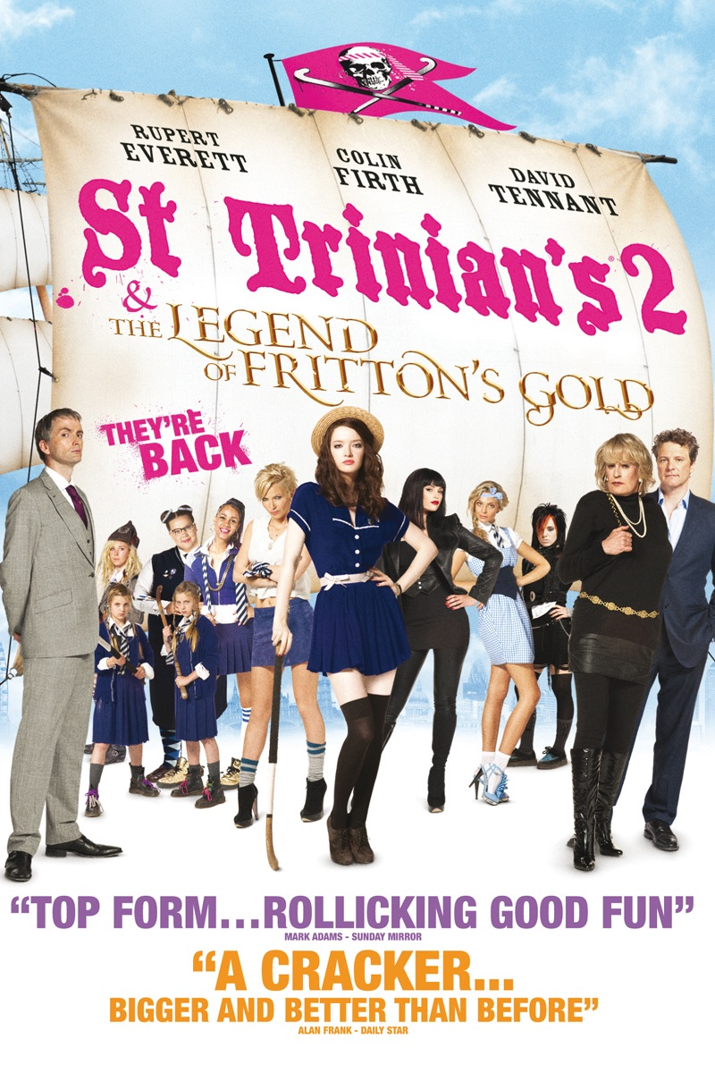 St Trinian's 2: The Legend of Fritton's Gold kapak