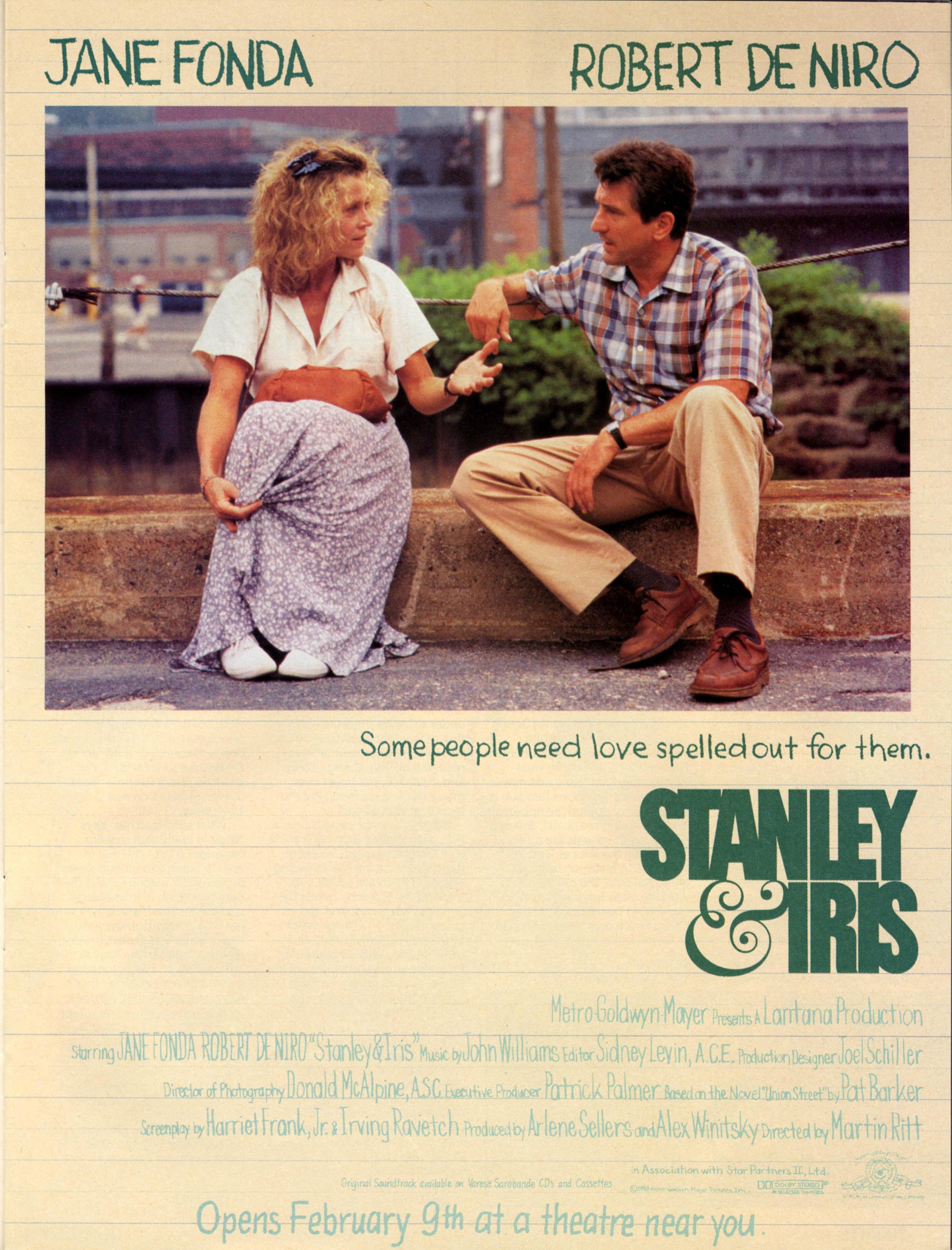 Stanley & Iris kapak