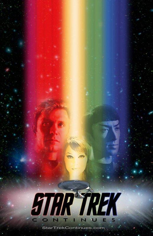 Star Trek Continues kapak