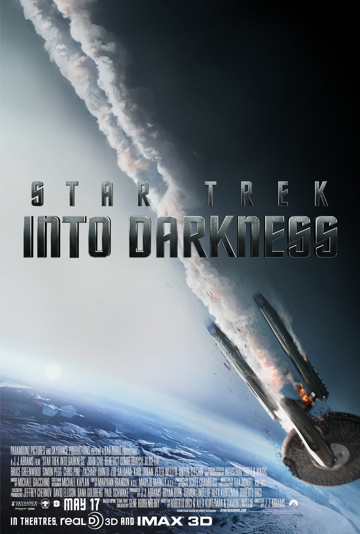 Star Trek Into Darkness kapak