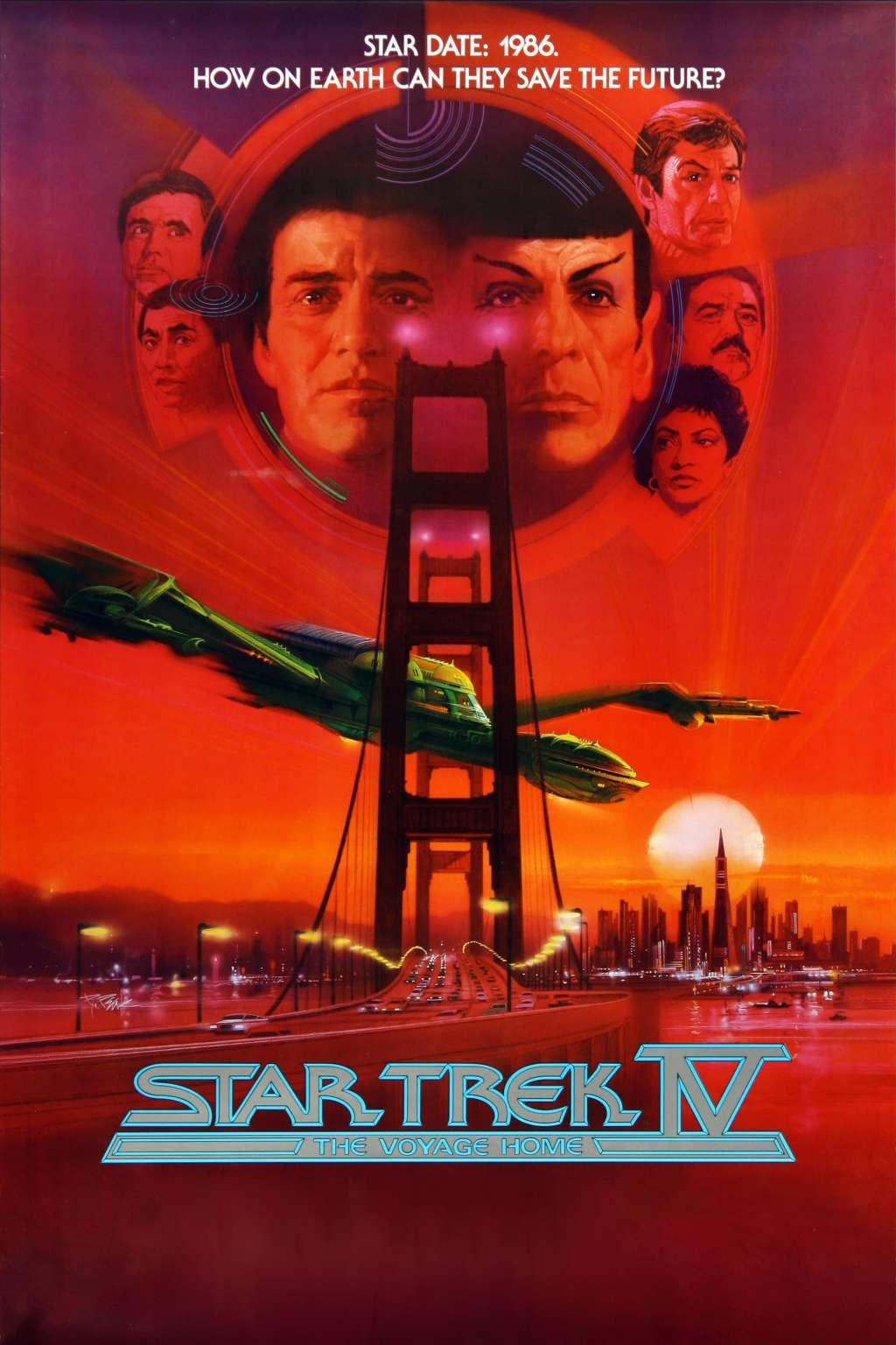 Star Trek IV: The Voyage Home kapak