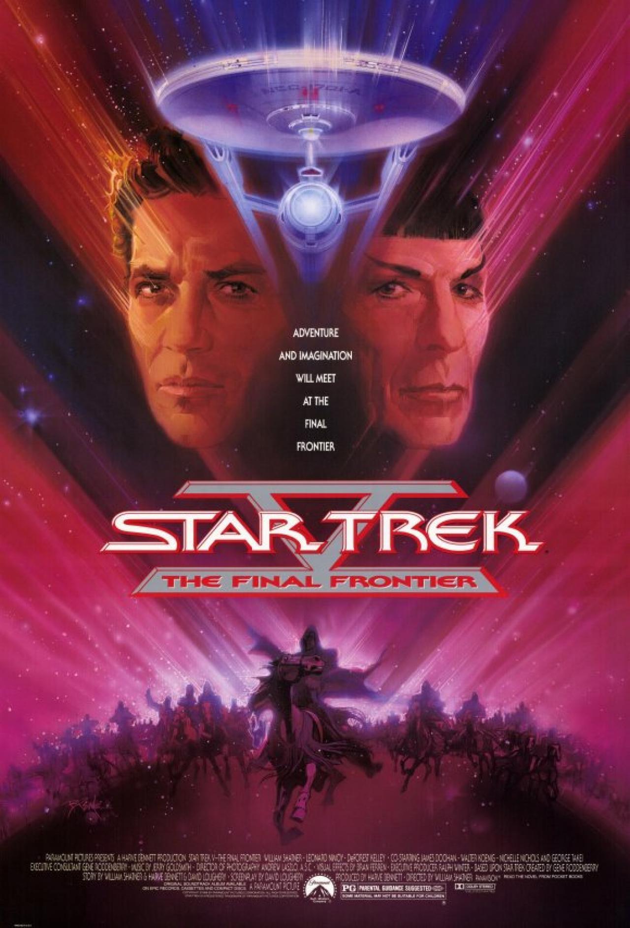 Star Trek V: The Final Frontier kapak