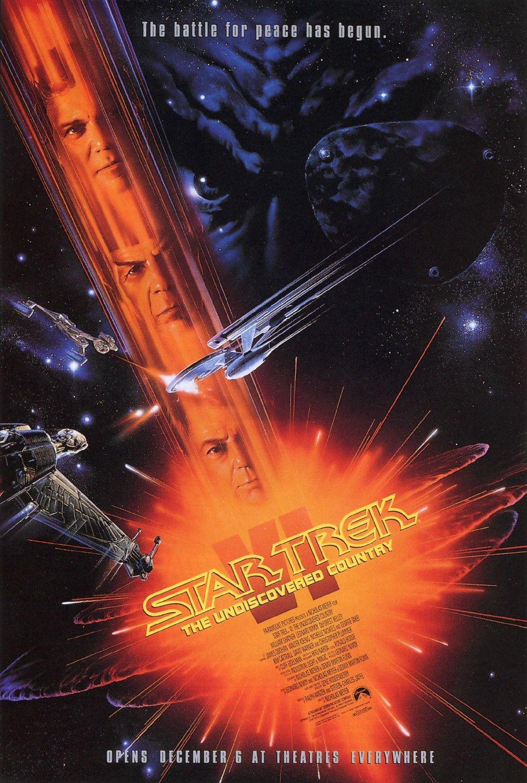 Star Trek VI: The Undiscovered Country kapak