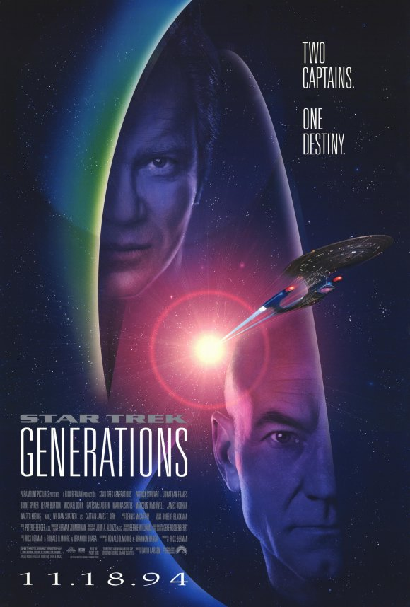Star Trek Generations kapak