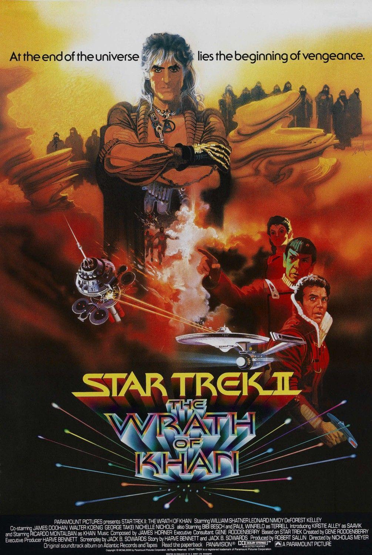 Star Trek II: The Wrath of Khan kapak