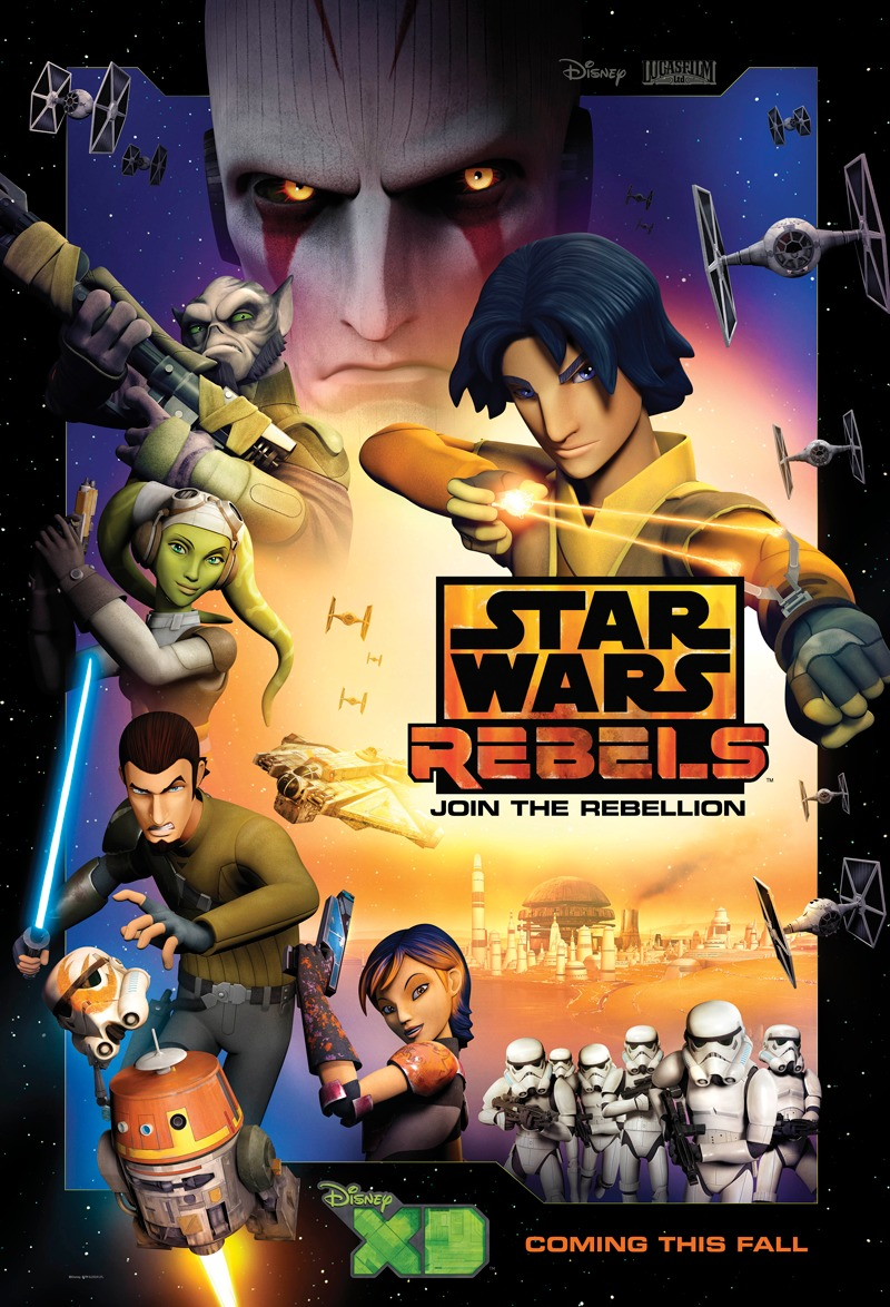 Star Wars: Rebels kapak