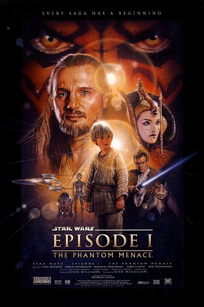 Star Wars: Episode I - The Phantom Menace kapak