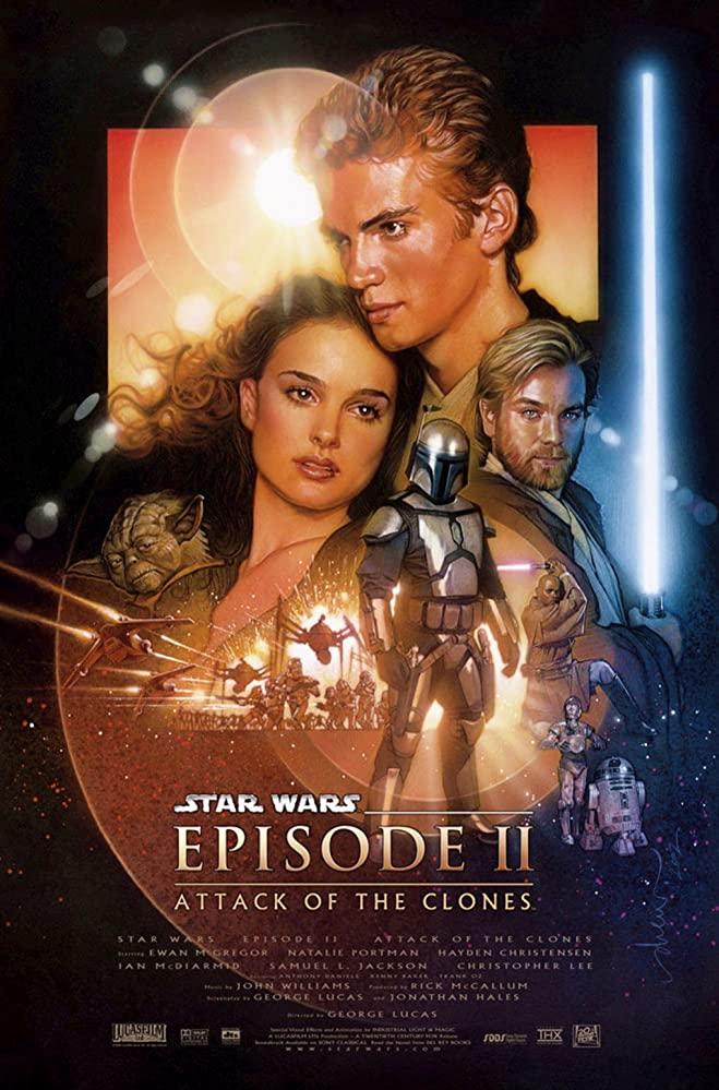 Star Wars: Episode II - Attack of the Clones kapak