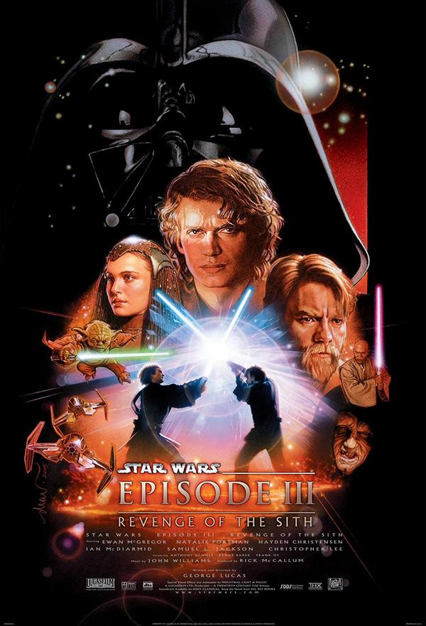 Star Wars: Episode III - Revenge of the Sith kapak