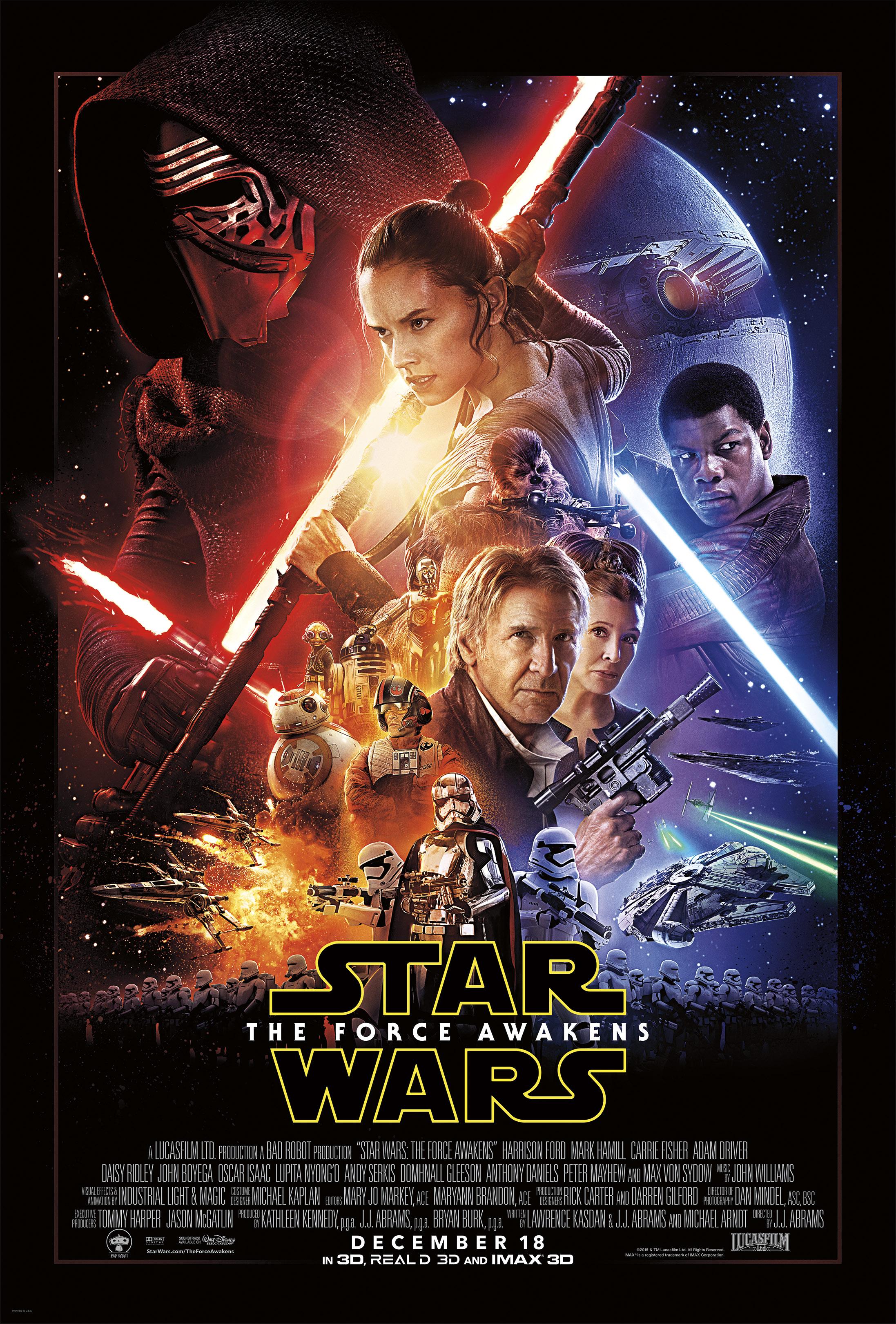 Star Wars: Episode VII - The Force Awakens kapak