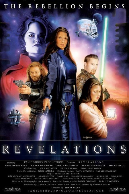 Star Wars: Revelations kapak
