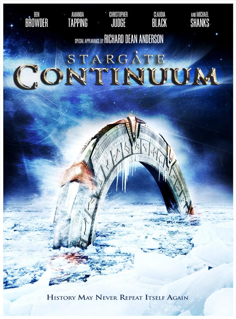 Stargate: Continuum kapak