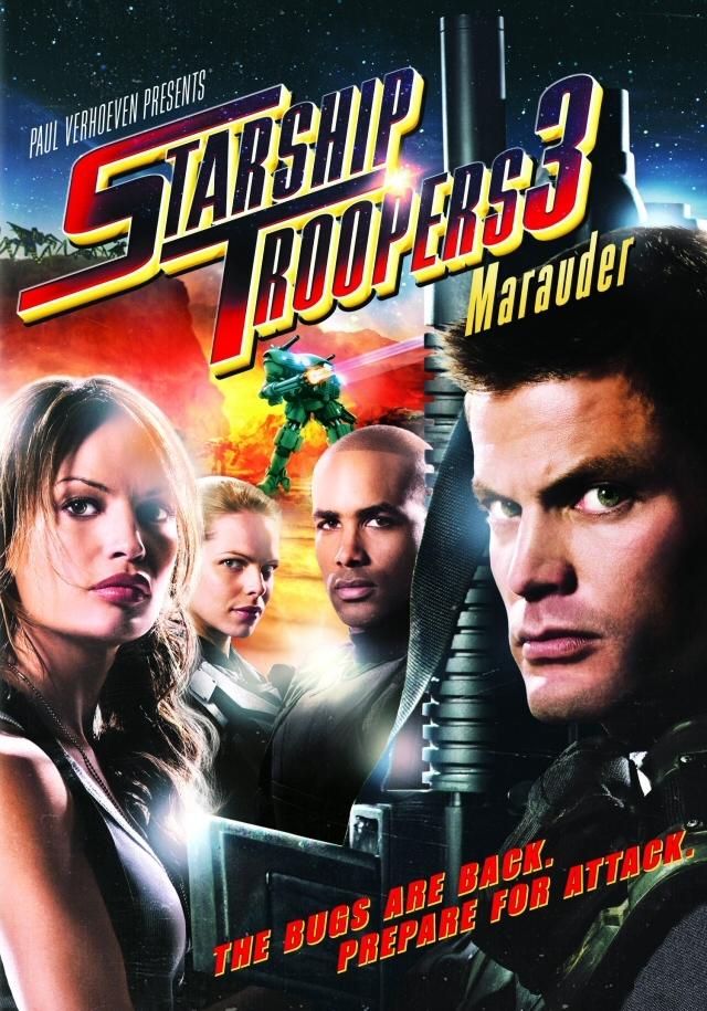 Starship Troopers 3: Marauder kapak