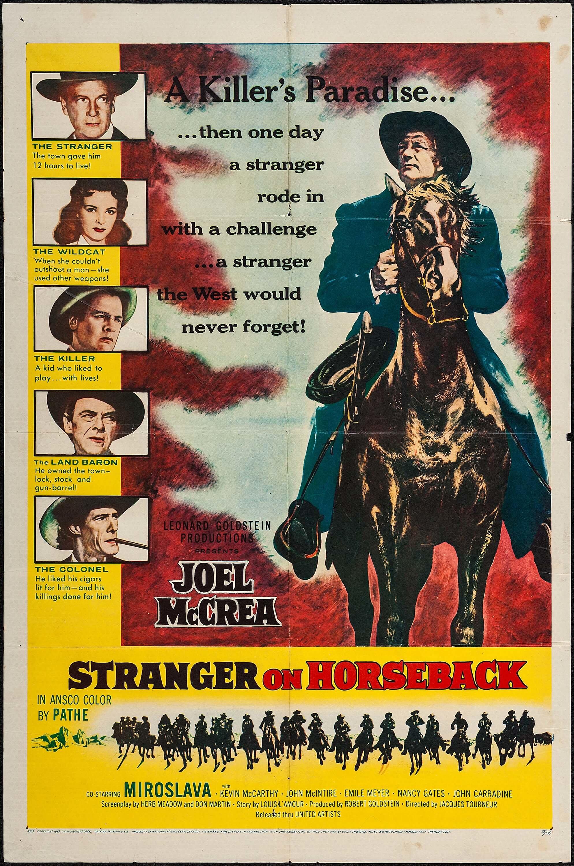 Stranger on Horseback kapak