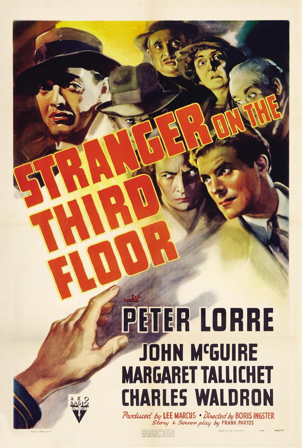 Stranger on the Third Floor kapak