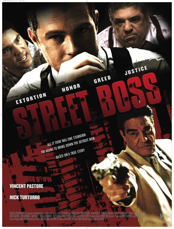 Street Boss kapak