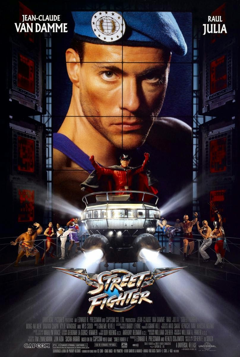Street Fighter kapak