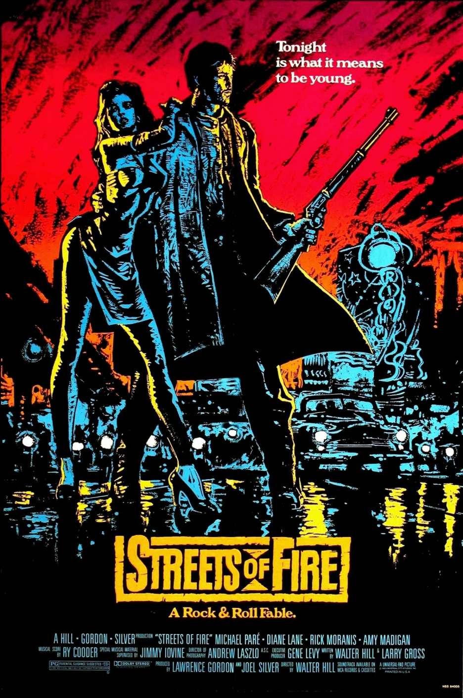 Streets of Fire kapak