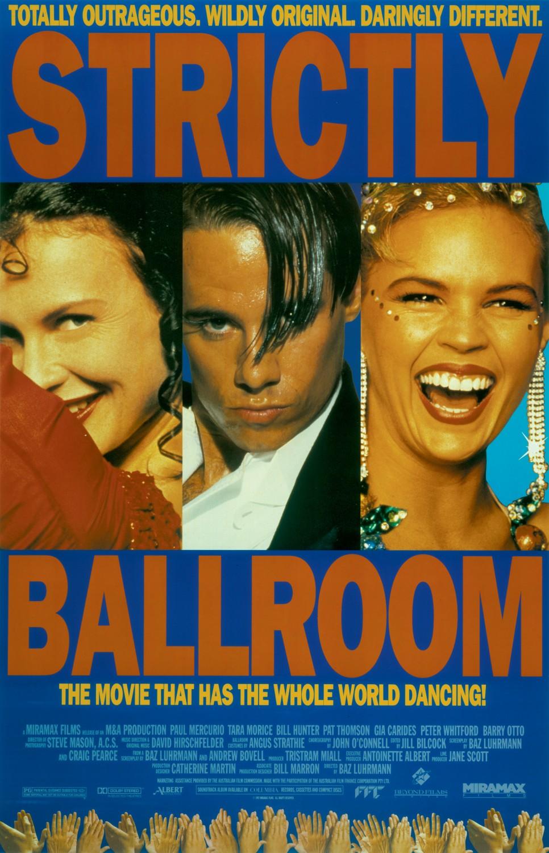 Strictly Ballroom kapak