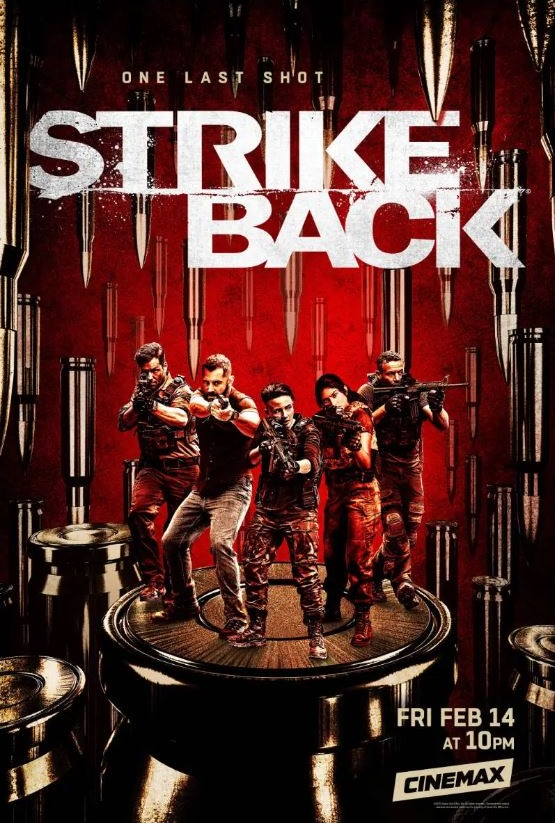 Strike Back kapak