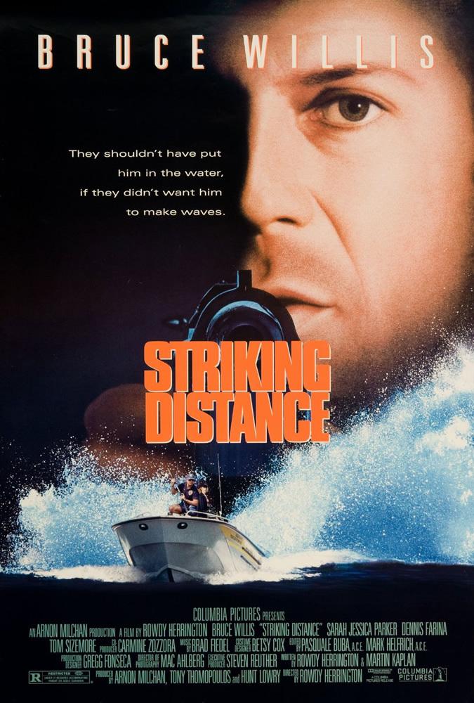 Striking Distance kapak