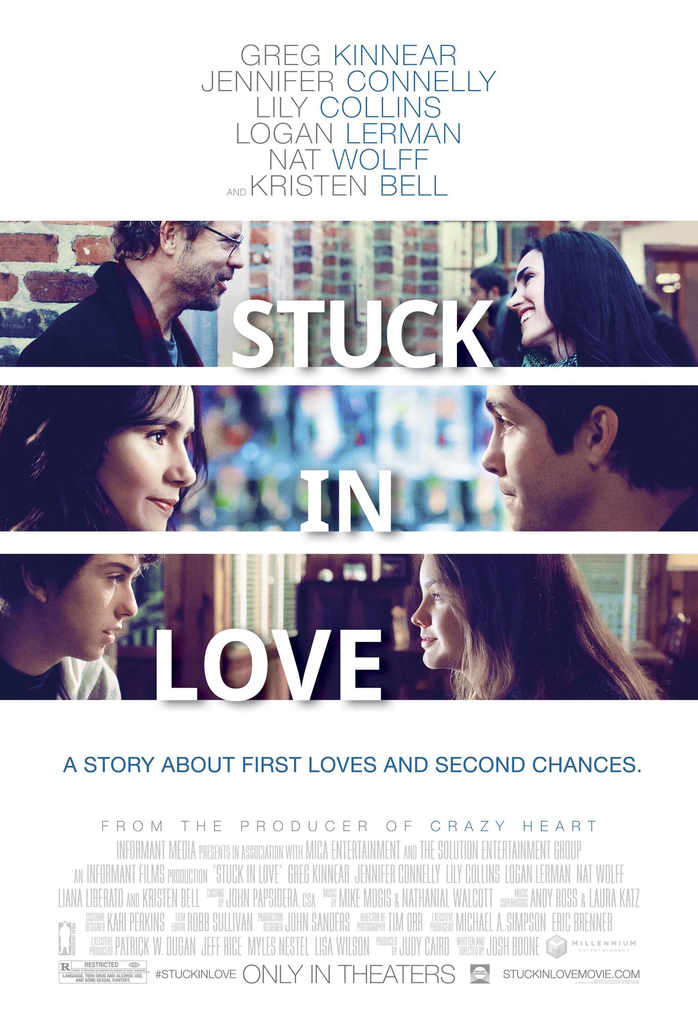 Stuck in Love. kapak