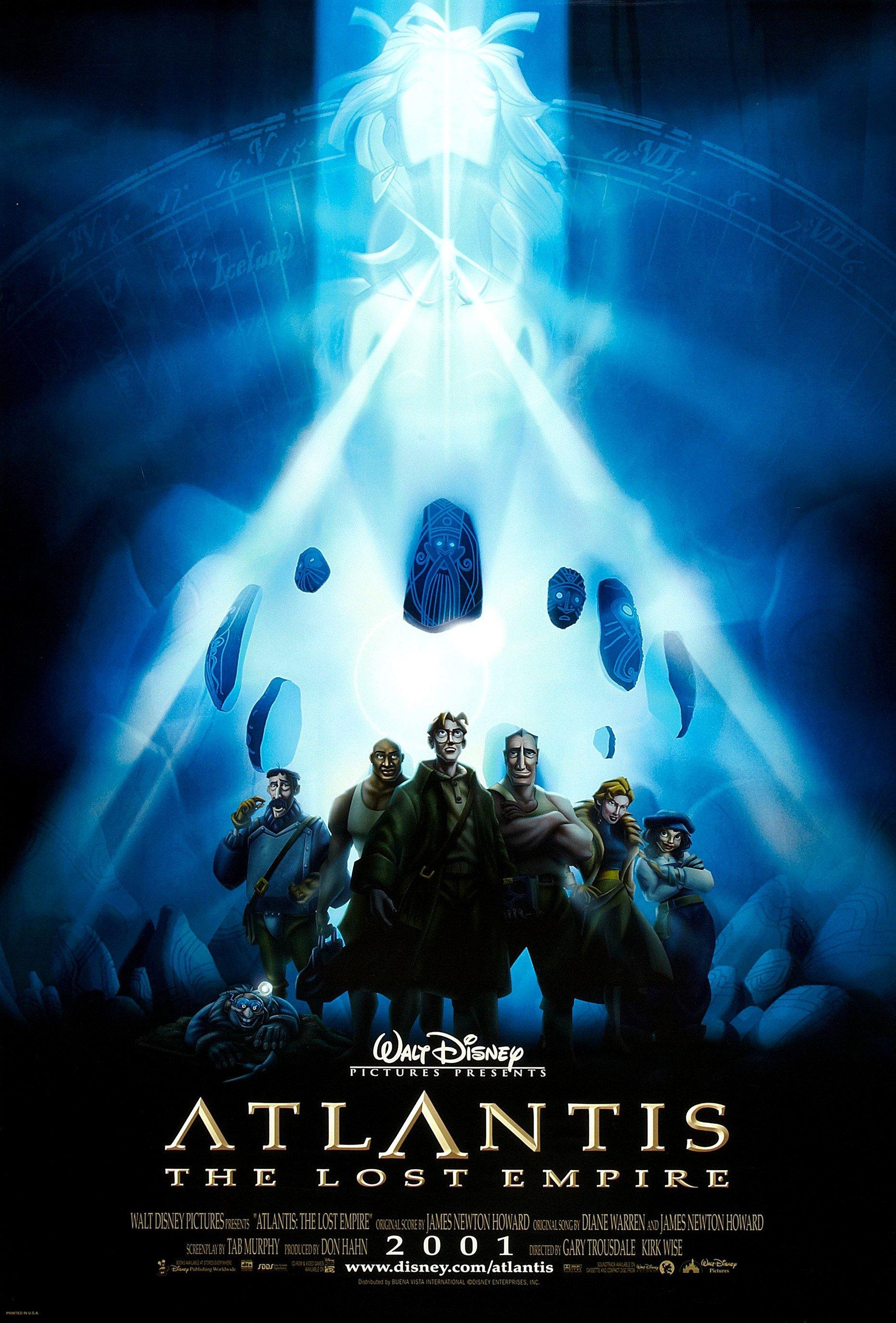 Atlantis: The Lost Empire kapak