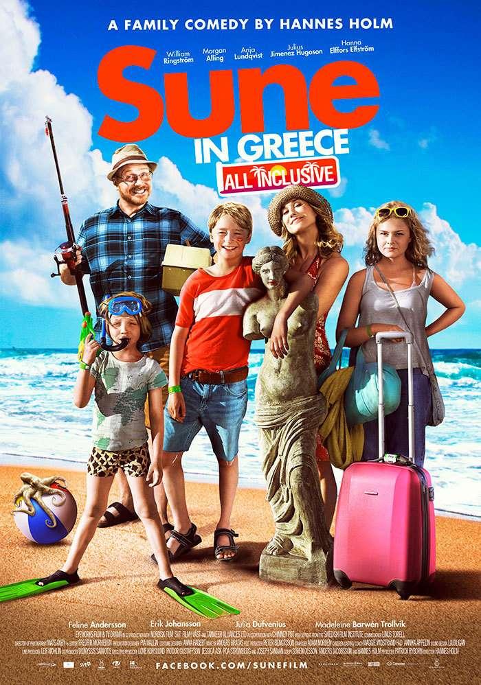 The Anderssons in Greece kapak
