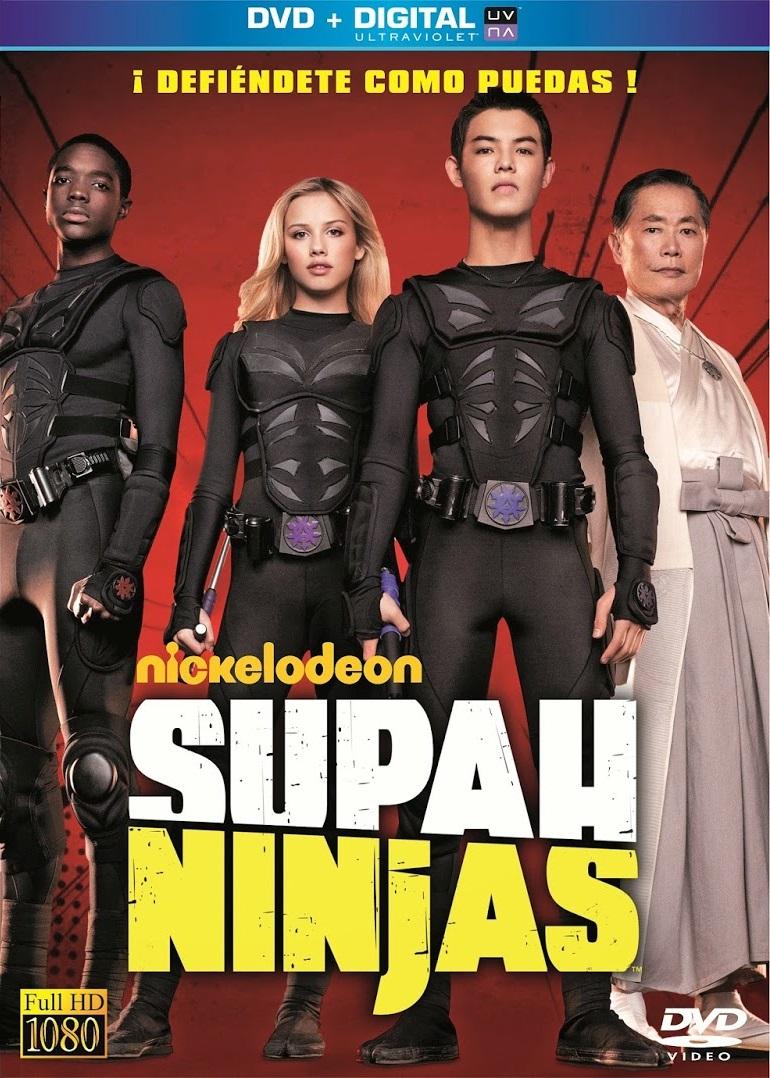 Supah Ninjas kapak