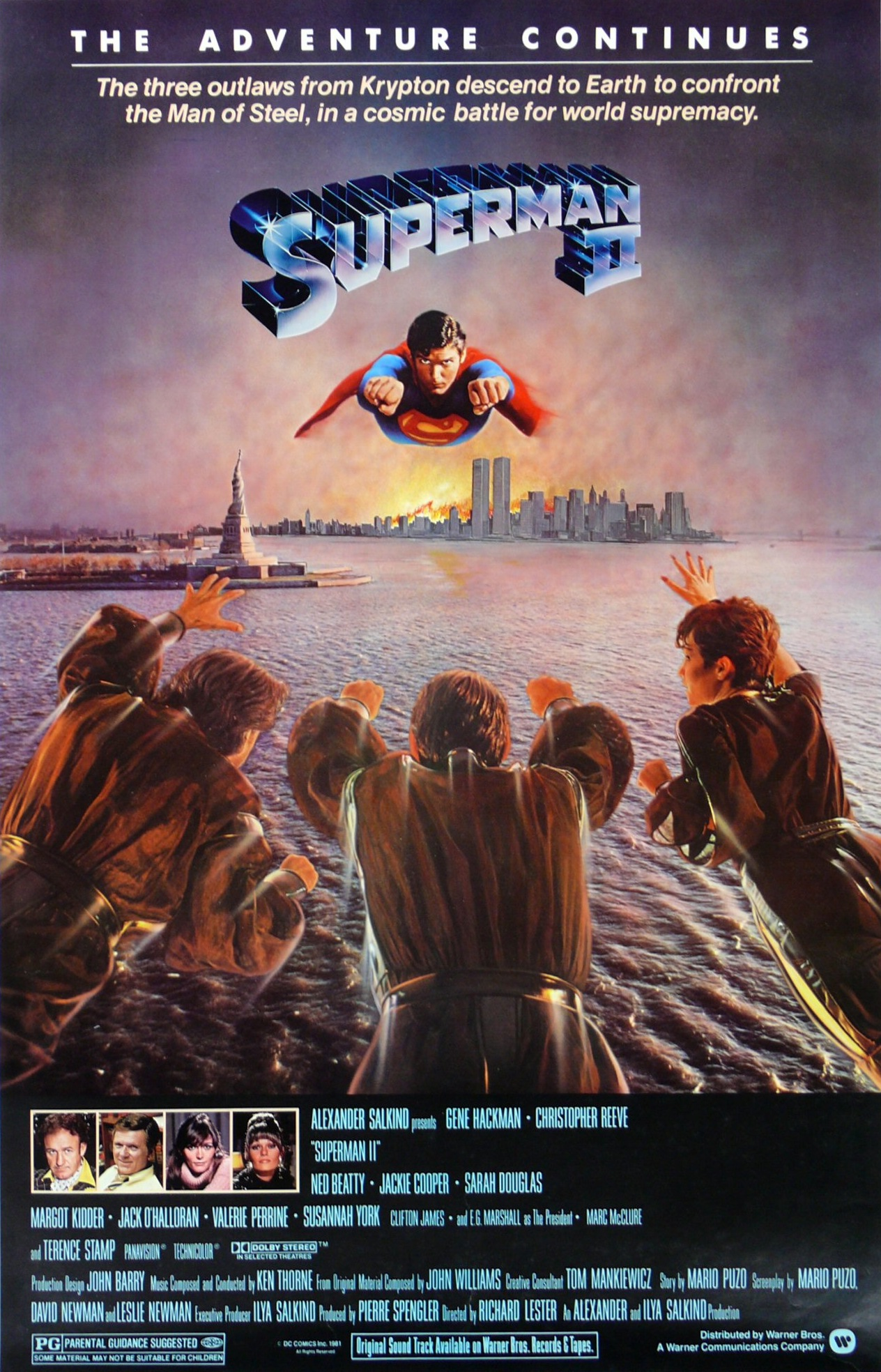 Superman II kapak