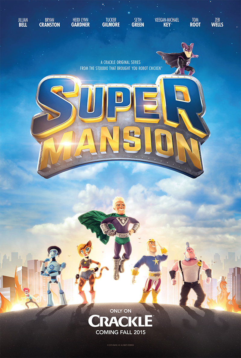 SuperMansion kapak