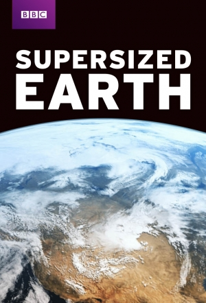 Supersized Earth kapak