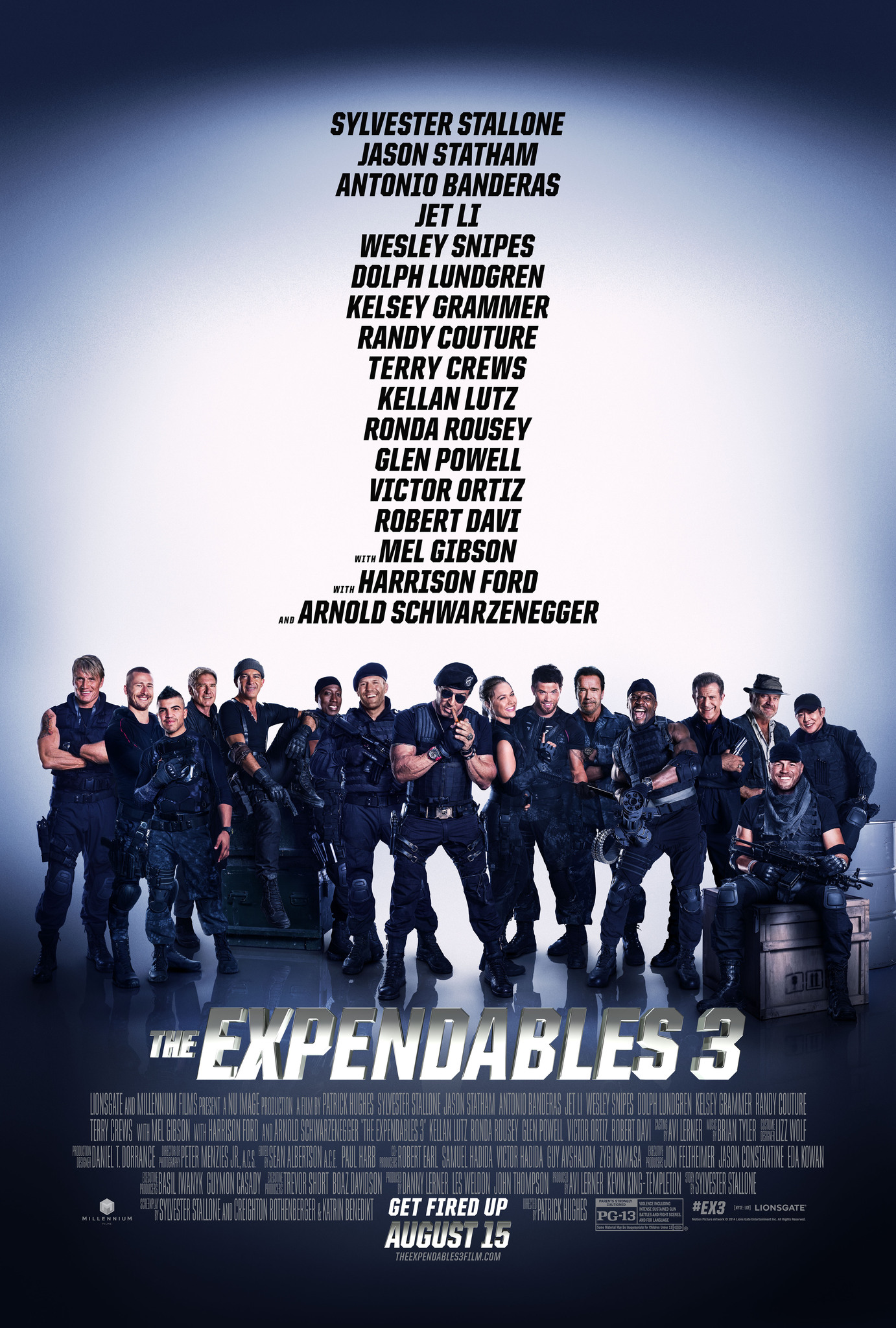 The Expendables 3 kapak