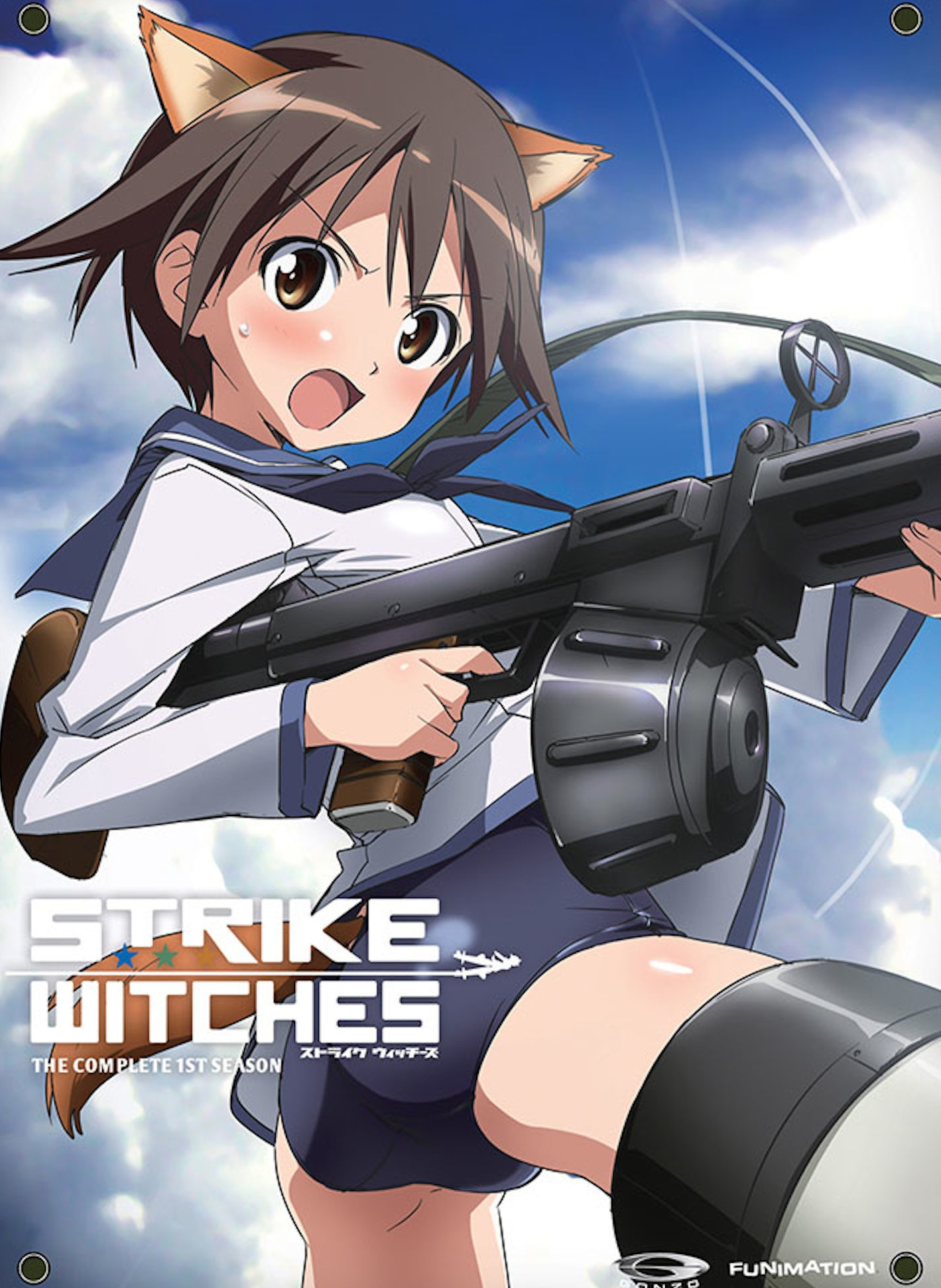Strike Witches kapak