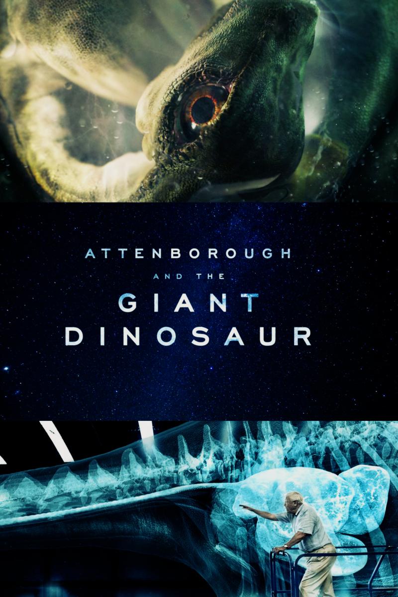 Attenborough and the Giant Dinosaur kapak